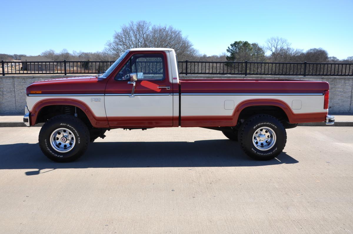 1985 Ford F150 4x4 30 1980 Pickup